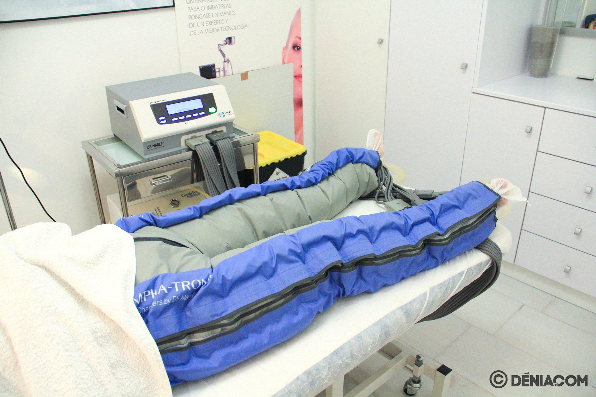 Presoterapia en Dénia – Clínica Estética Castelblanque