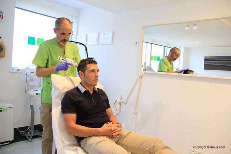 Tratamientos Mesoterapia Capilar Dénia - Clínica Estética Castelblanque