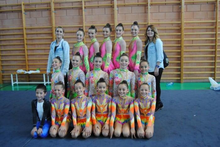 Las gimnastas de Dénia y Calpe entre las mejores