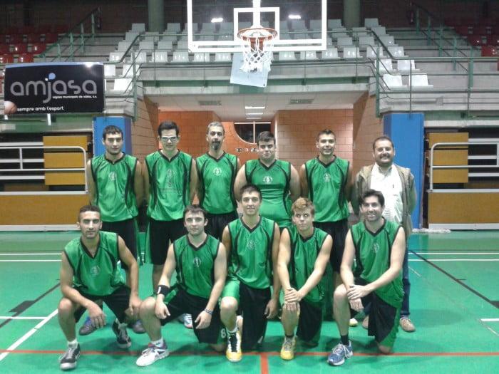 El Joventut Xábia de liga Zonal ganó al CB. La Vila