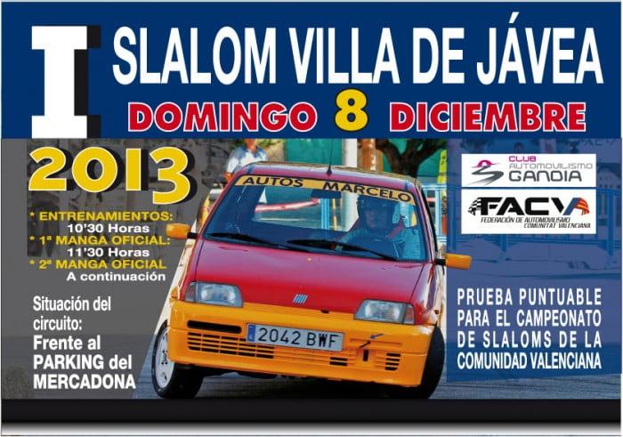 LLega el espectáculo con el I Slalom Villa de Jávea de automovilismo