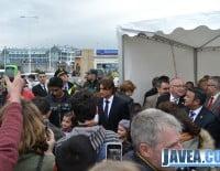 A principios de abril David Ferrer inauguraba el paseo de Jávea que lleva su nombre