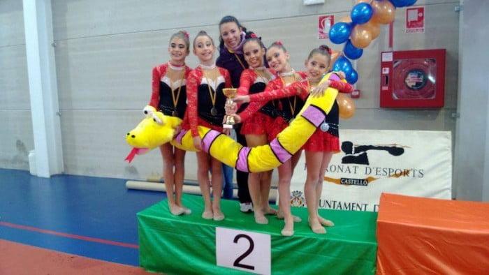 C. Gimnastica Xàbia Subcampeonas