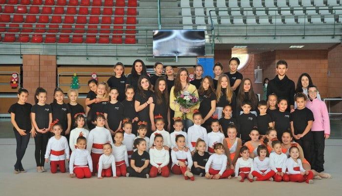 Elena López gimnasta campeona del mundo en Xàbia