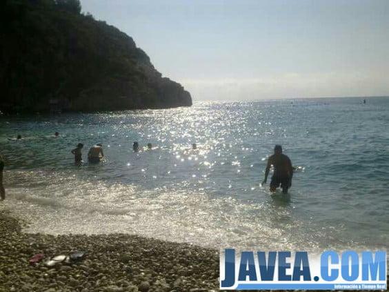 La cala de la Granadella en Jávea fue elegida como mejor playa de España por segundo año consecutivo