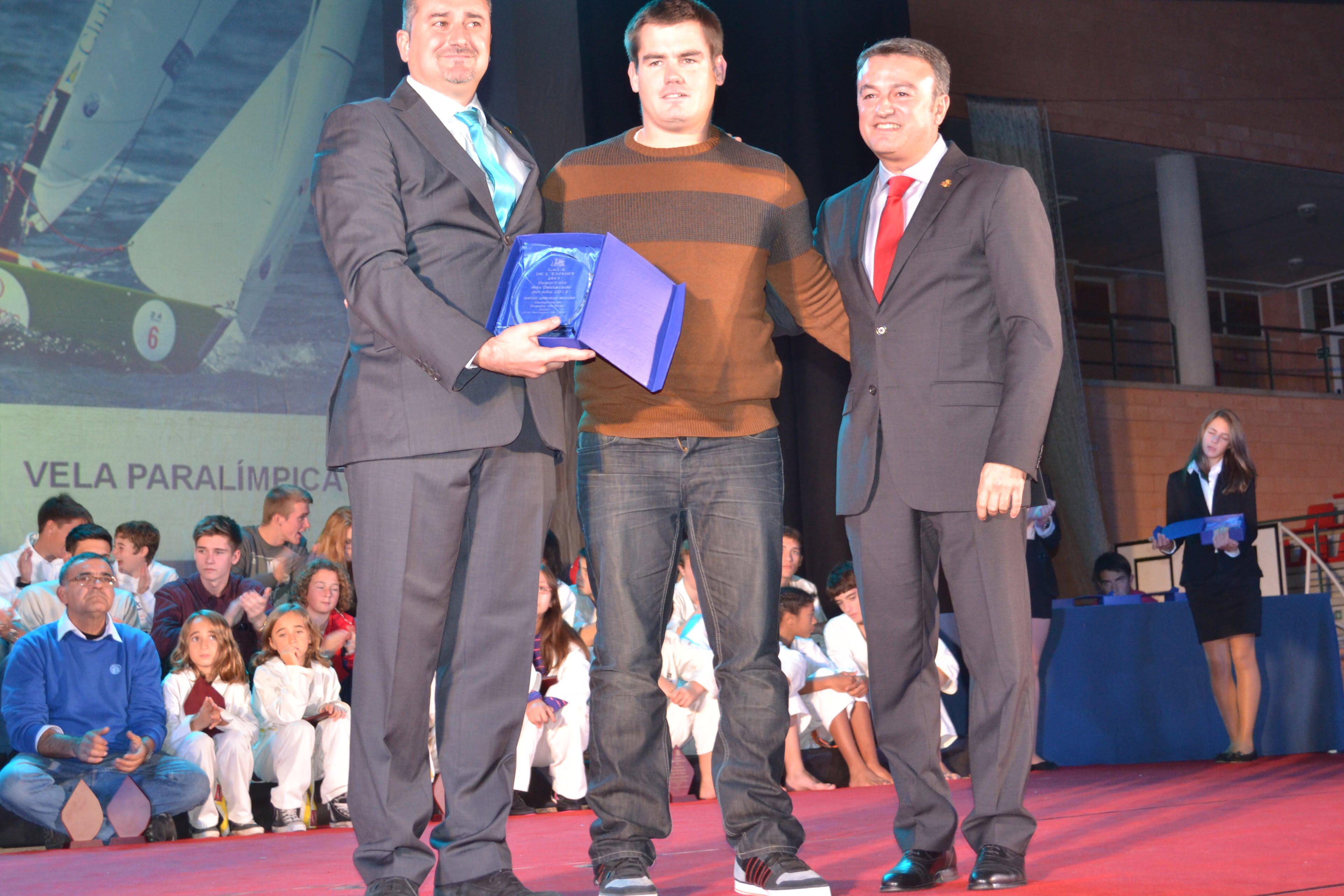 Rafael Andarias regatista paraolímpico