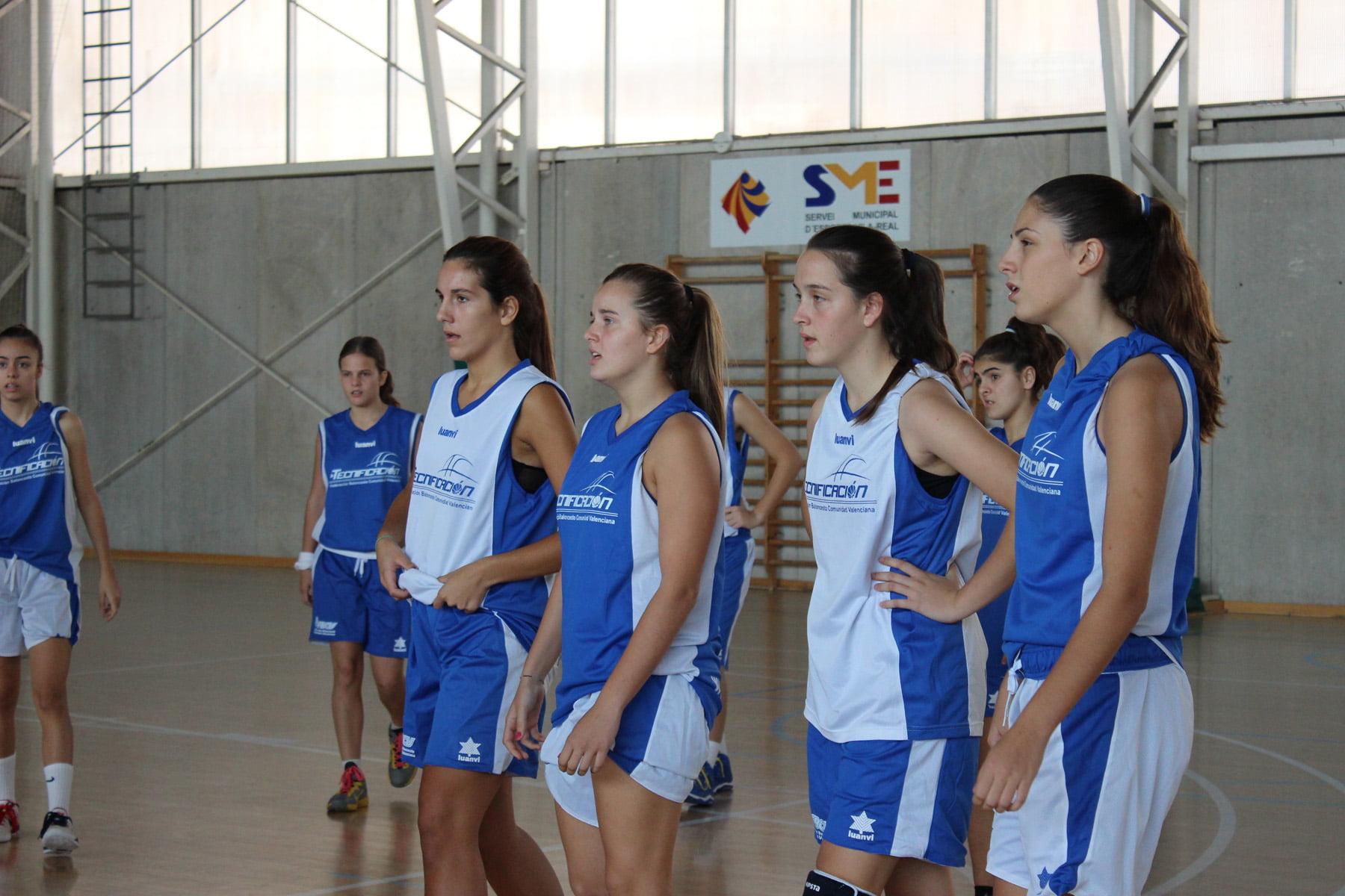 Andrea Marqués jugara el Campeonato de España Cadete de baloncesto