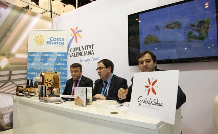 Xàbia presentaba la marca GastroXàbia en FITUR