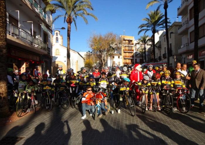La carrera pavo 2013 en Xàbia fue divertida