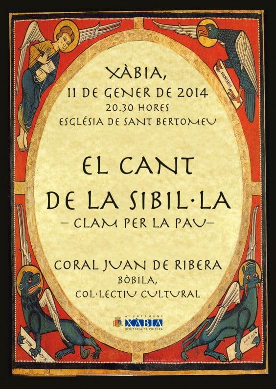 El canto de la Sibila se representará por primera vez en la Iglesia de San Bartolomé de Jávea