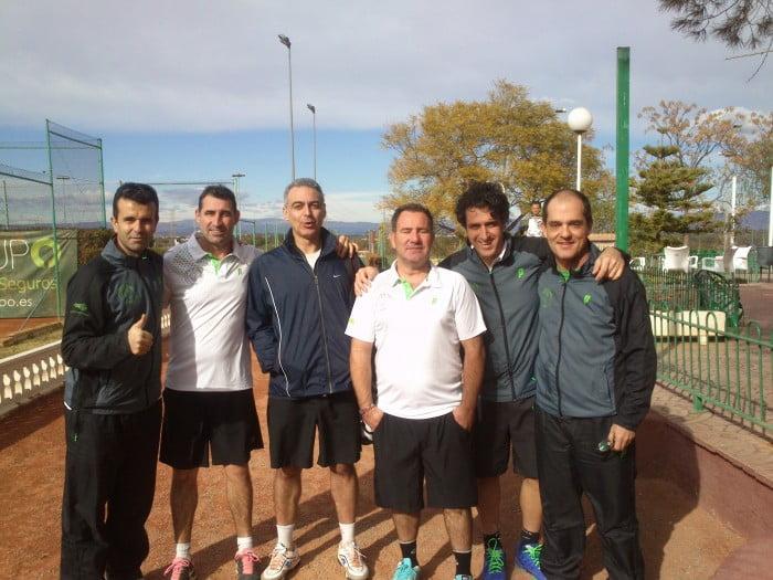 El Club de Tenis Jávea en la élite de Veteranos