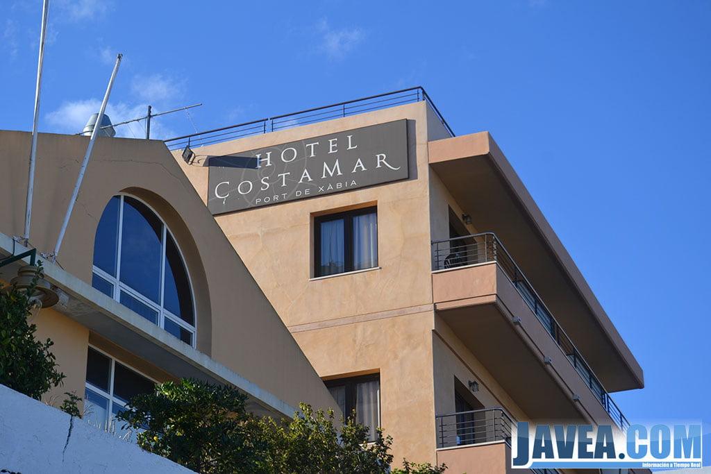 Hotel Costamar en Jávea está situado a segunda línea de la Playa La Grava