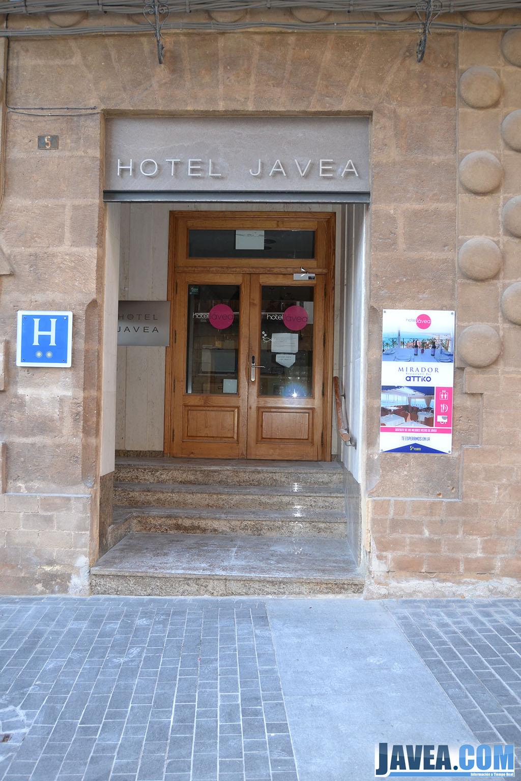 Hotel Jávea a escasos metros de la Playa La Grava