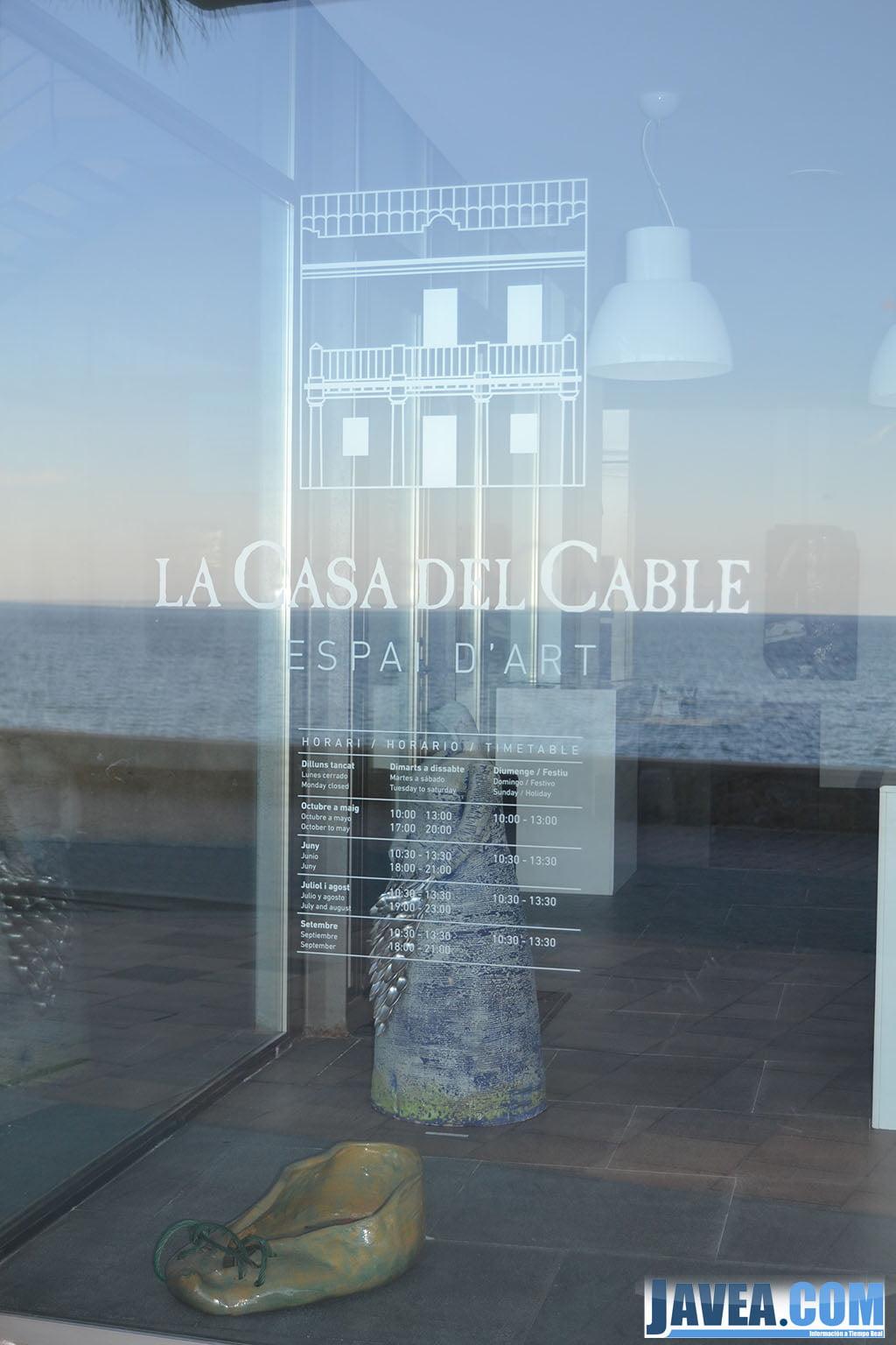 La Casa del Cable en el Paseo Marina Española de Jávea a primera línea de la Playa La Grava