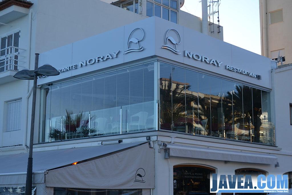 Noray Restaurante en Jávea situado a primera línea de la Playa La Grava