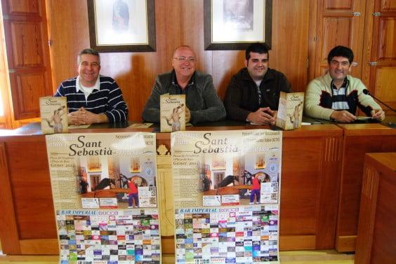 Presentació de les festes de Sant Sebastià 2014