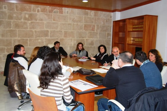 Working meeting of the eleven municipalities of the route riuraus