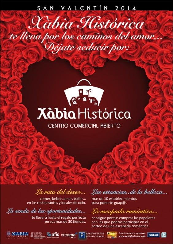 Xàbia Histórica sortea una escapada romántica para San Valentín