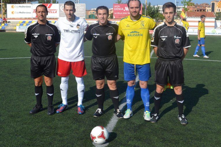 Ortolá y Gervasio los capitanes en el partido de ida