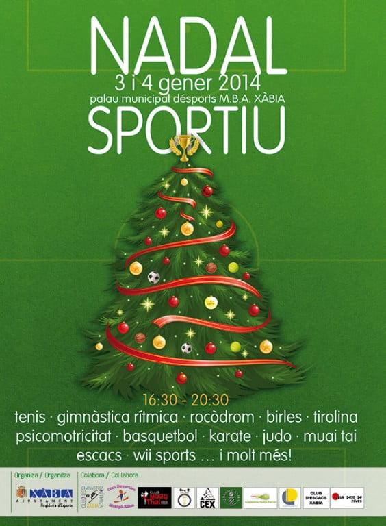 cartel Nadal Esportiu 2014