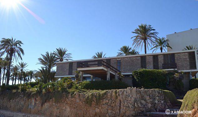 Imagen: Casa del ex Ministro de Franco que se encuentra en la Cala