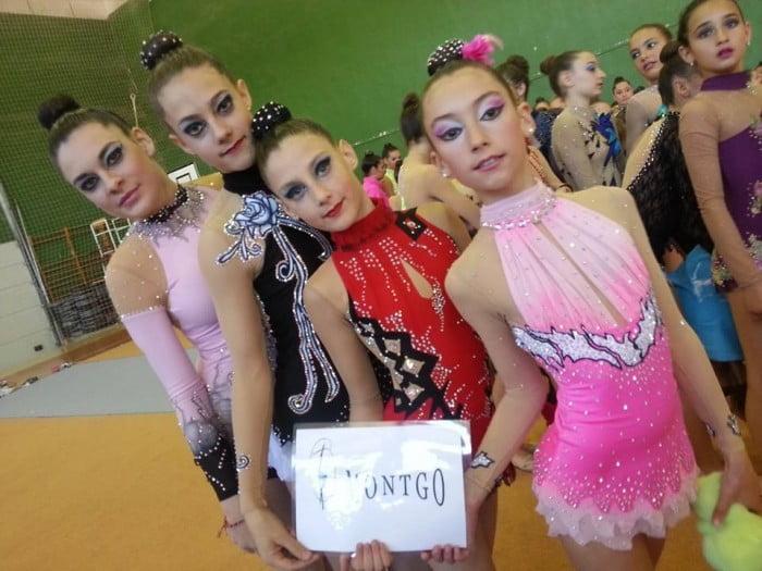 Alba Bisquert, Paula Campoy, Lucia Batalla y Llucía Buigues