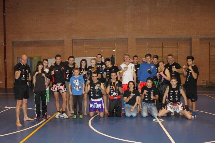 El Club Muay Thai Xàbia fue de los más laureados