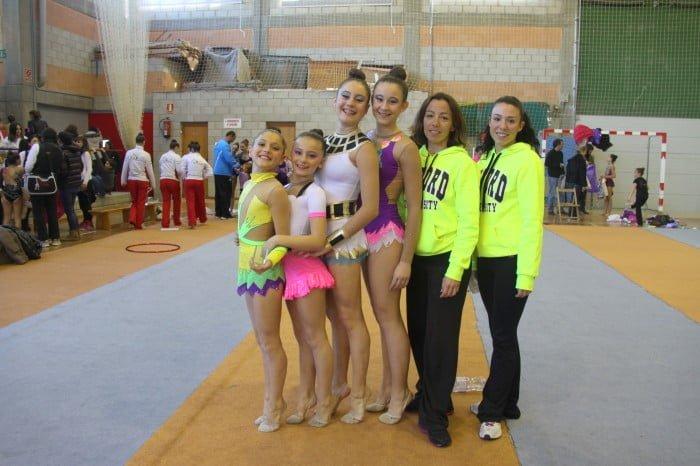 Clara Caballer, Lucia Caballer, Arantxa Bover y Elena Mari