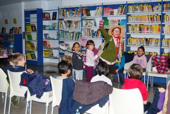 Cuentacuentos en la Biblioteca Municipal de Jávea