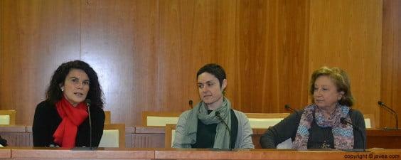 Isabel Bilbao, Elena Roig y María Luisa Pérez son las comisarias de las galerías de arte de Jávea en las que se expondrán las diferentes muestras