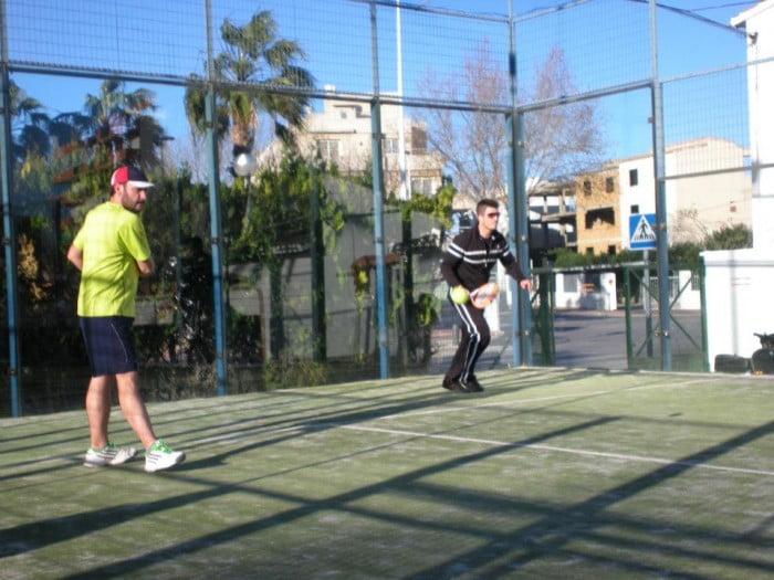 Pádel en Club Tenis Jávea