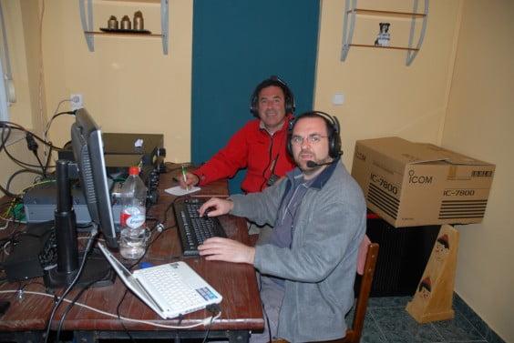 Participantes en el Campeonato Mundial de Radioa ficionados