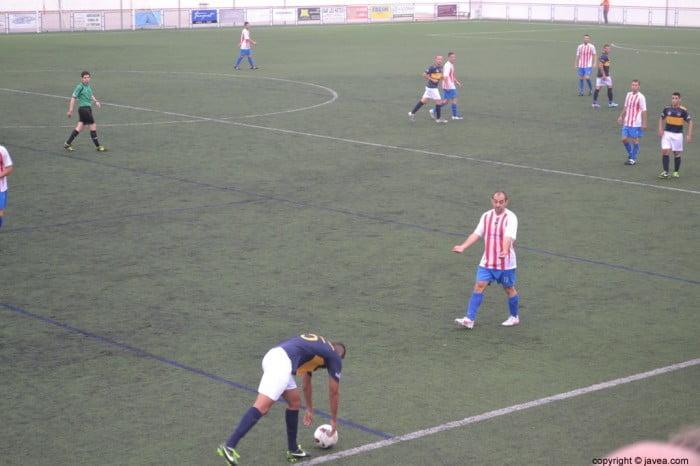 Dani García un jugador decisivo en el CD. Jávea