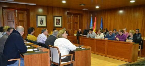 Pleno extraordinario de febrero en el Ayuntamiento de Jávea