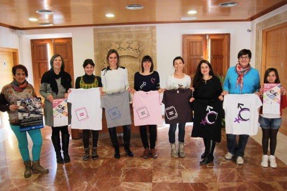 Presentación de la Cursa No Competitiva por el Día de la Mujer en Jávea