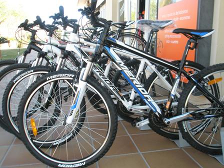 Señalización de las rutas en bicicleta de Jávea