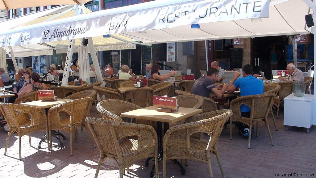 Terrassa Bar Restaurant L'almadrava