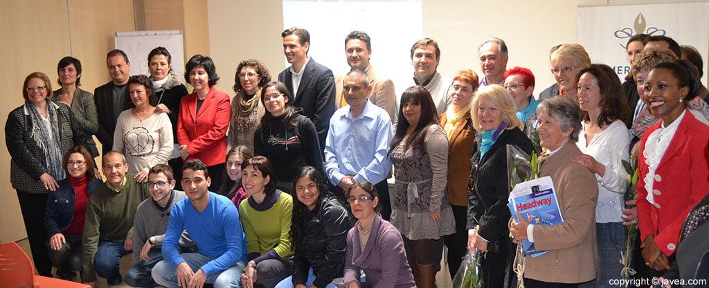 Alumnos y personal docente de la segunda edición del curso de fomento de empleo en hostelería y turismo