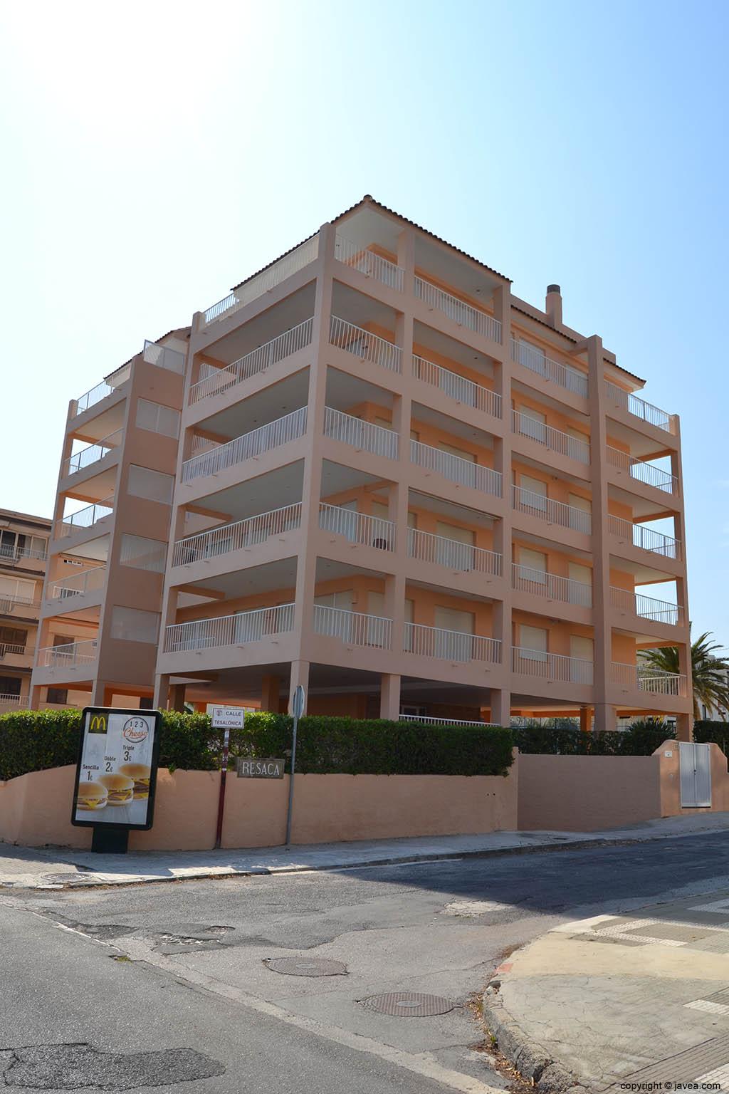 Apartamentos Resaca en la playa del segundo montañar de Jávea