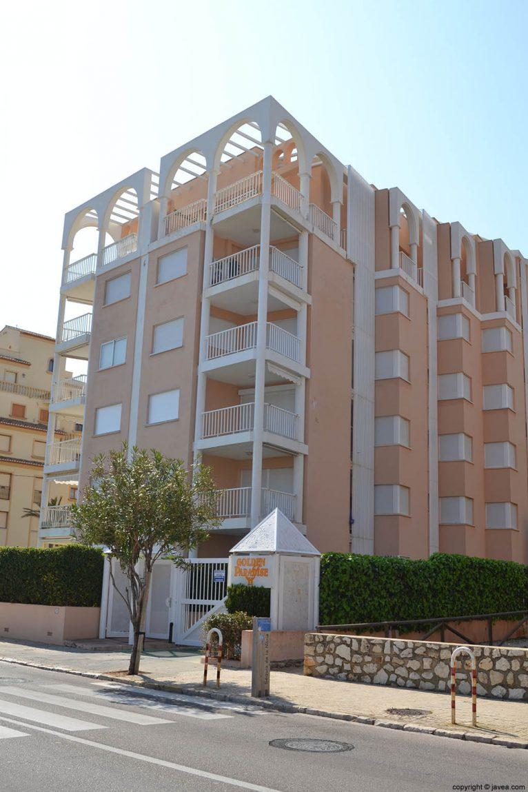Apartamentos en Jávea Golden Paradise II en la playa del segundon montañar