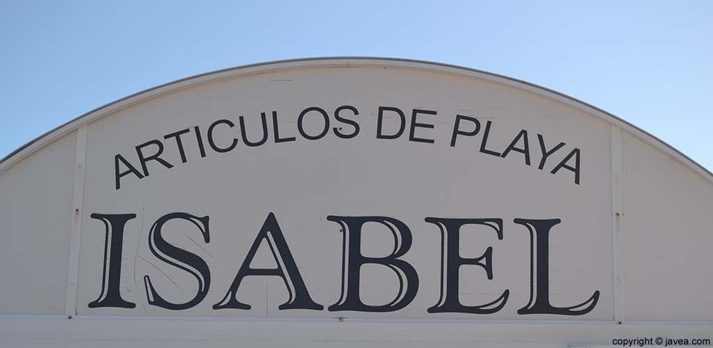 Articles d'Platja Isabel a Xàbia