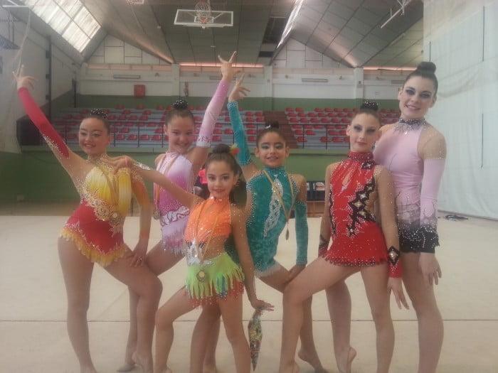 Cristina Maldonado, Zayra Costa, Alba Morell, Lucía Gómez, Lucía Batalla y Alba Bisquert en Alboraya