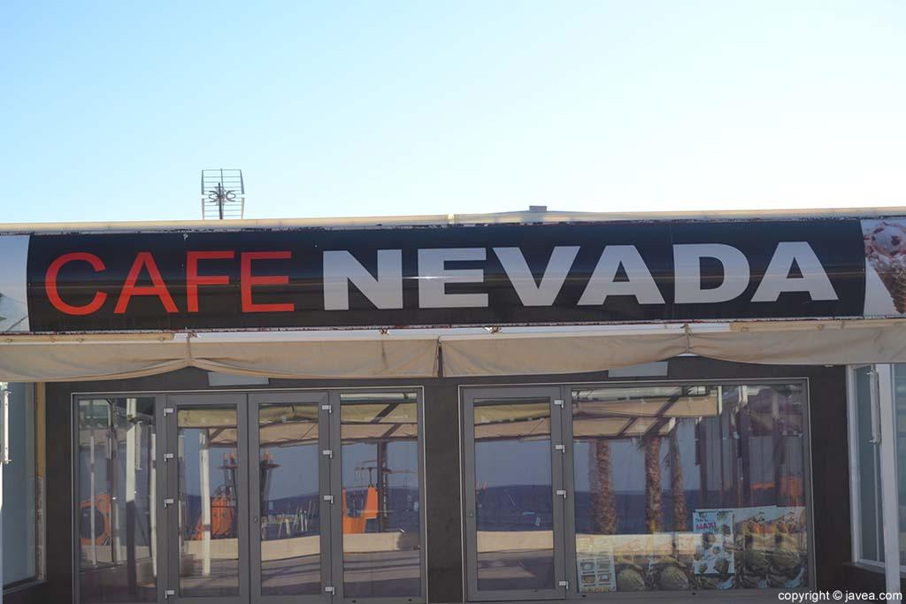 Café Nevada en la Playa del Arenal de Jávea