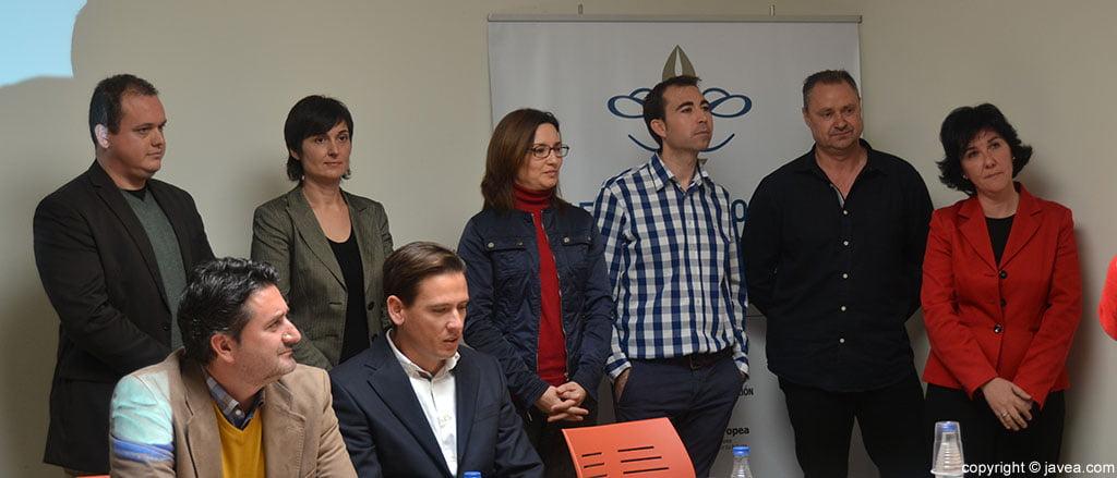 David Casado, Isabel Vila, Inma Far, Jesús Martinez, Mario Schumacher y Cristina Rodríguez forman el equipo docente