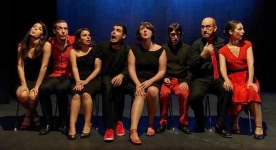 El octeto vocal Octàmbuli presentará en Jávea su espectáculo Abbas Cantadas