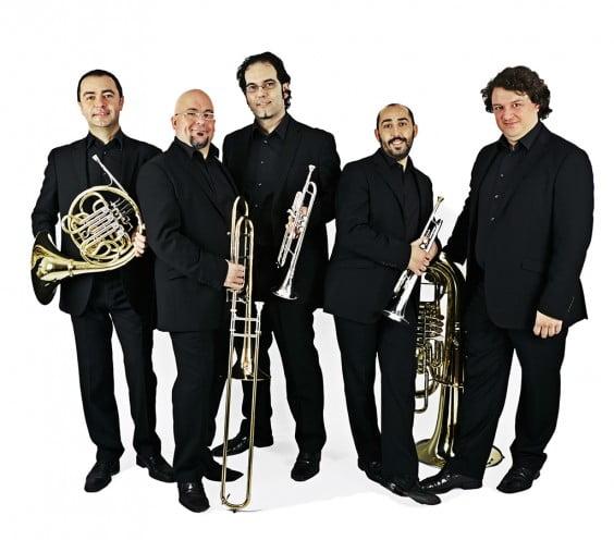 El quinteto Spanish Brass Luur Metalls actuará en el Conservatorio de Jávea