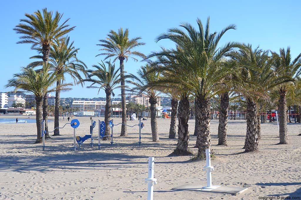 En Jávea se encuentra la Playa del Arenal