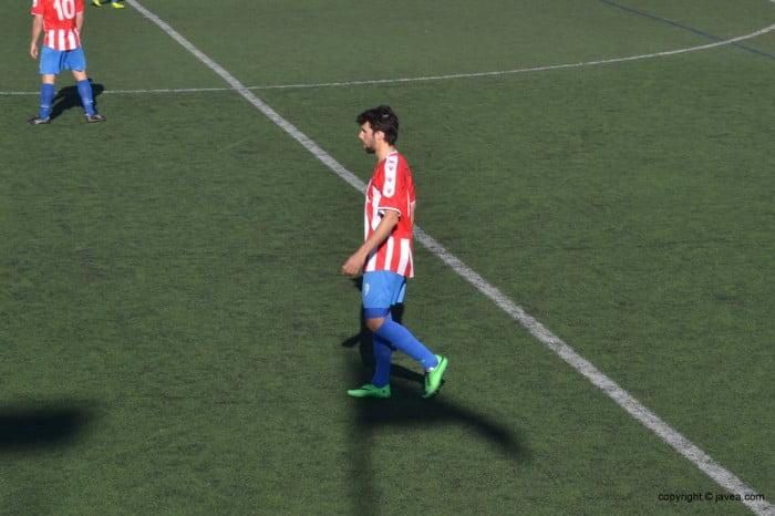 Francesc Borrás marcó el primer gol ante el Contestano