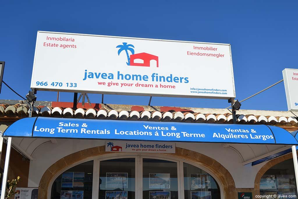 Inmobiliaria Jávea Home Finders en Jávea
