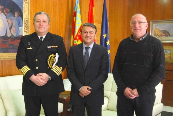 José Carlos Martínez Losada, José Chulvi y Juan Ortolá